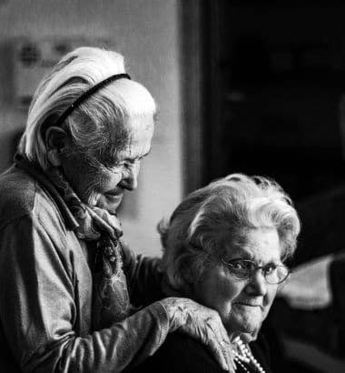 Seniors Care Shoulders